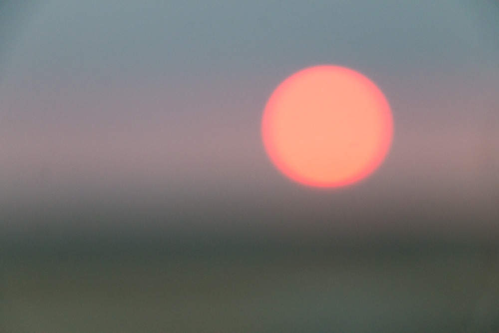 Out of Focus Sunset