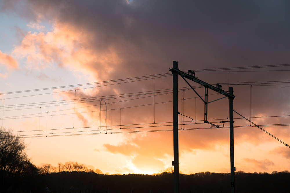 Railroad Silhouette (2)
