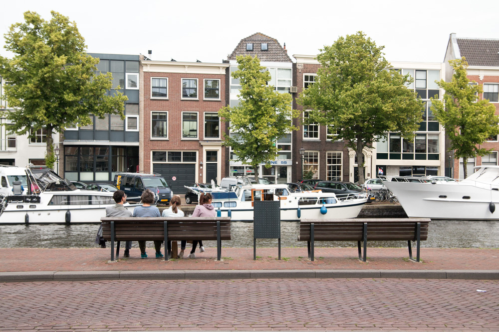 Sitting at the Spaarne
